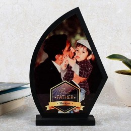 Personalized Best Father Trophy