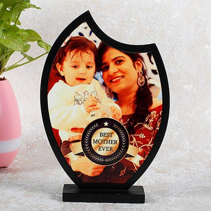 Personalized Best Mom Trophy