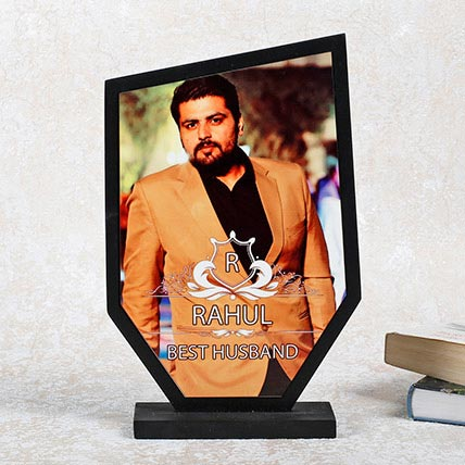 Personalized Best Husband Trophy
