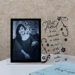 Personalised Quotation Photo Frame Small