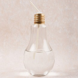 White Sipper Bulb Small