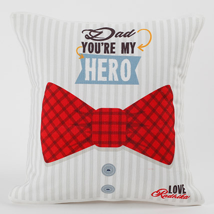 Dad You Are My Hero Personalized Cushion