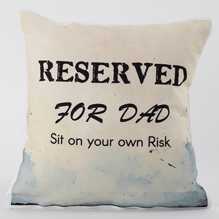 Adorable Fathers Day Cushion