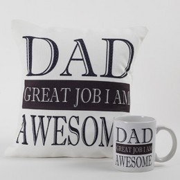 Awesme Dad Mug And Cushion Combo
