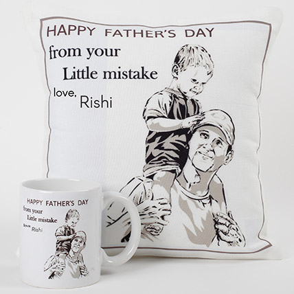 Cool Sketch Personalized Combo For Dad