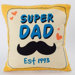 Super Dad Personalized Cushion