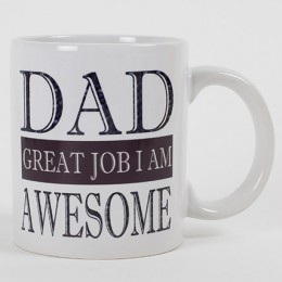 Personalized Mug For Awesome Dad