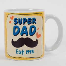 Personalized Mug For Super Dad