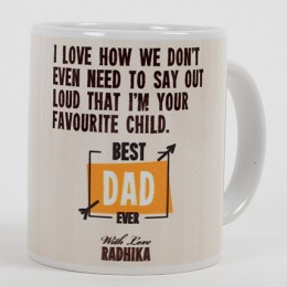 Best Dad Personalized Mug