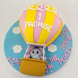 Up In The Sky Balloon Cake 3kg