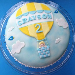 Baby in Balloon Cake 2kg