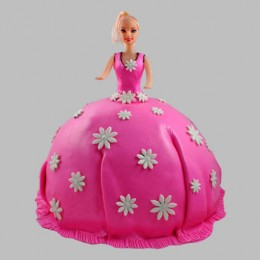 Pink Delight Barbie Cake 2kg