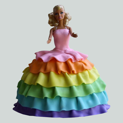 Splash of Colours Barbie Cake 2kg