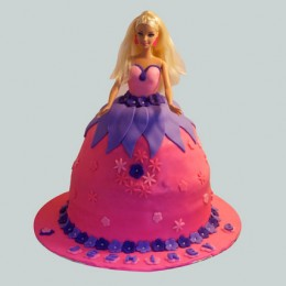 Royal Barbie Cake 2kg