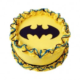 Bright Batman Cake half kg
