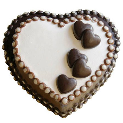 Special Heart Chocolate Cake 1kg