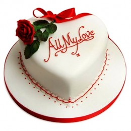All My Love Cake 1kg Vanilla