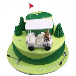 Golf Car Cake 3kg