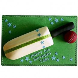 Splendid Cricket Bat Ball Cake 2kg