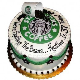 Excess Starbucks Cake