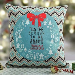 Jolly Christmas Cushion