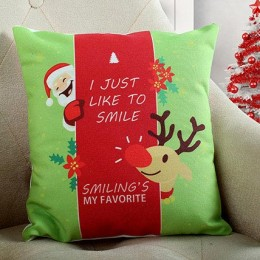 Smiling Santa Christmas Cushion