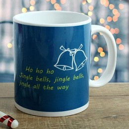 Jingle Bell Christmas Mug