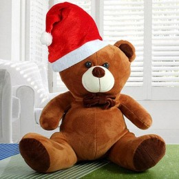 Lovable Christmas Teddy