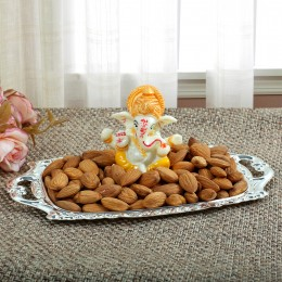 Resin Ganesha with Almonds