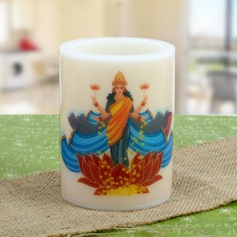 Lakshmi Ganesha Hollow Candle