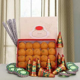 Laddoos and Crackers Delight