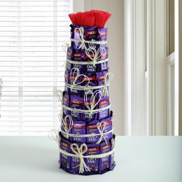 Delicious Dairy Milk Tower