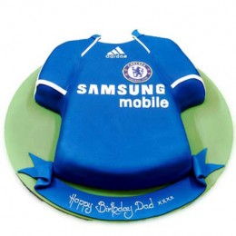 Chelsea Jersey Samsung Cake