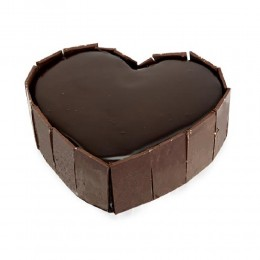 Cute Heart Shape Cake 1Kg Eggless