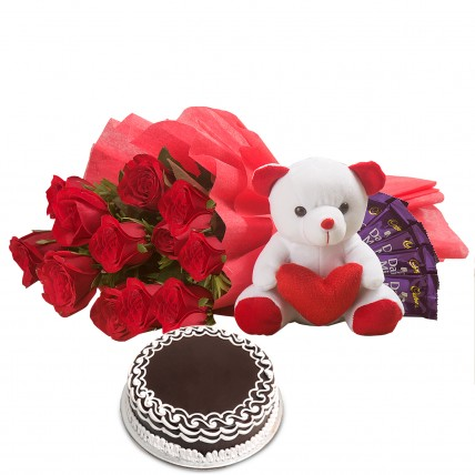 Softy Roses Hamper