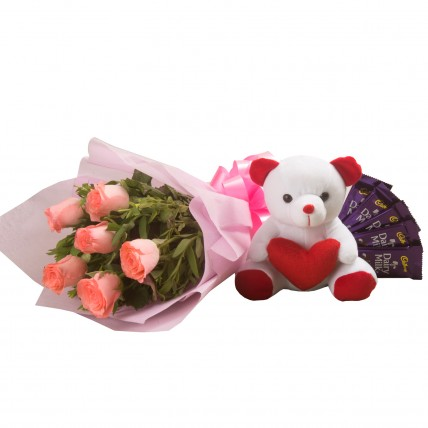 Flowers n Soft toy