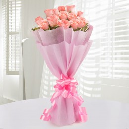 Endearing Pink Roses for Love