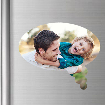 Personalized Fridge Magnet For Dad