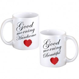 Good Morning Couple Mugs