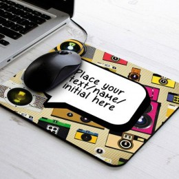 Personalize Message Mouse Pad