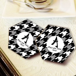 Personalized Letter Coasters