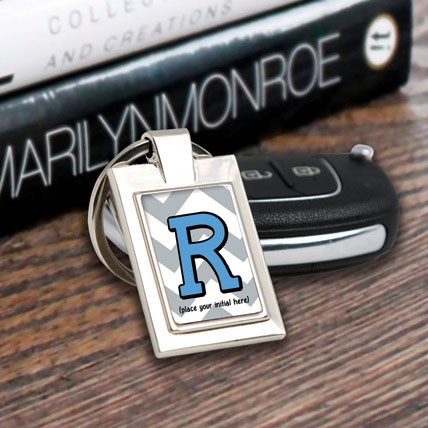 Personalized Letter Key Chain