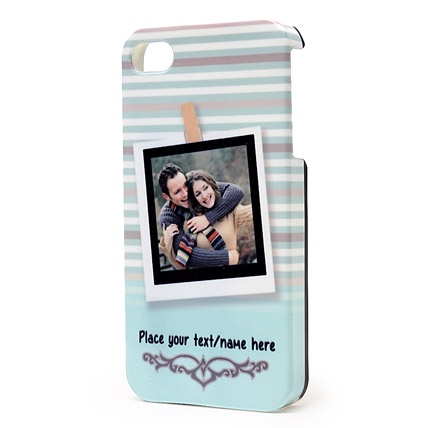 Personalized iPhone Photo Cover