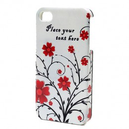 Personalized Floral iPhone Case