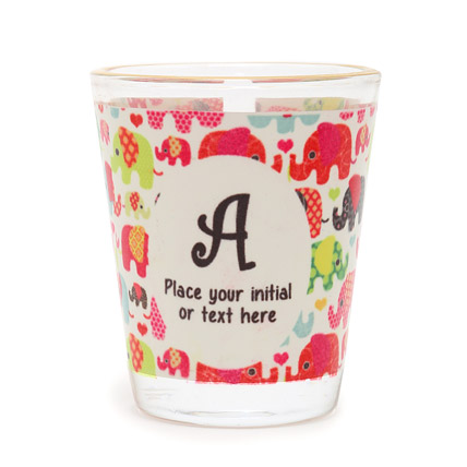 Personalized Initial Shot Glass