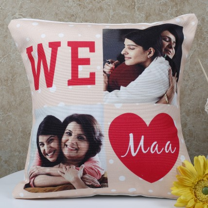 Mothers Day  Personalized Maa Cushion