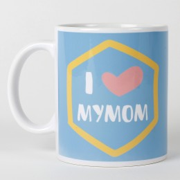 Mothers Day  Love My Mom Mug