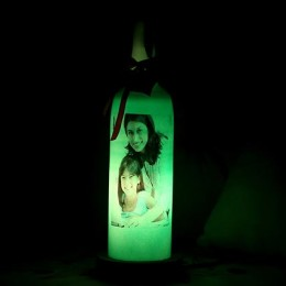Mothers Day Bottle lamp