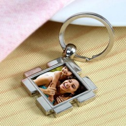 Happy Personalized Keychain