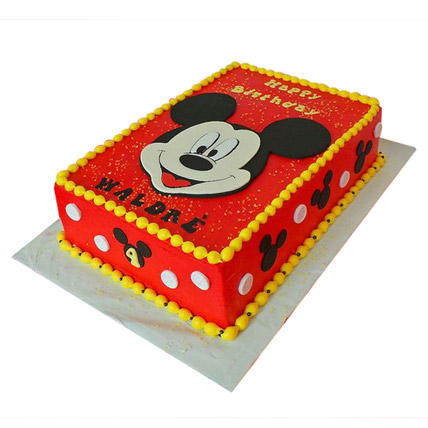 Red Mickey Mouse Cake 2kg